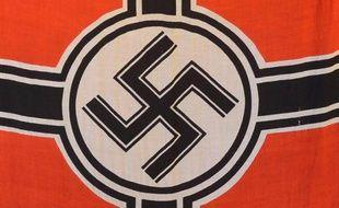 Photo d'illustration d'une croix gammée, symbole du 3e Reich.