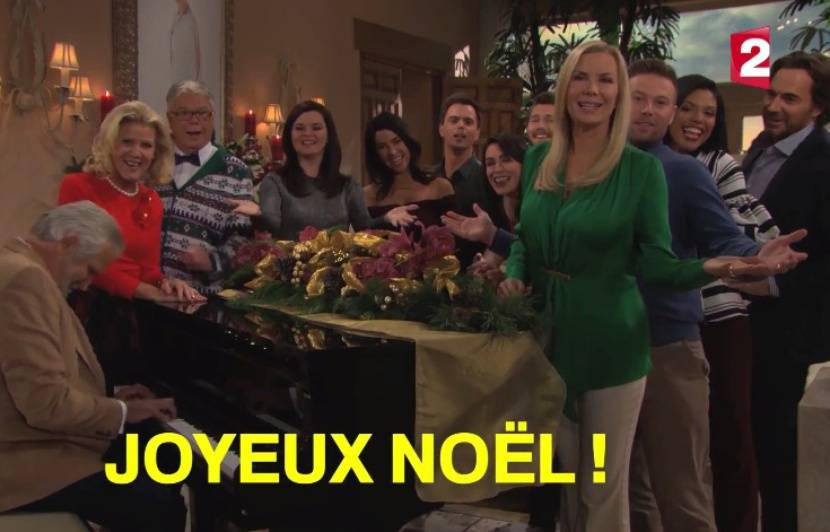 Video Amour Gloire Et Beauté Magie De Noël Les