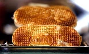 Les gaufres Meert sont généralement fourrées à la vanille  de Madagascar