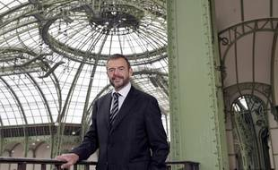 Jean-Paul Cluzel, le 14 avril 2010 au Grand Palais.