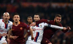 Maxime Gonalons et les Lyonnais ont dû batailler pour se qualifier au bout du suspense.