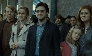 Dernière scène du dernier film Harry Potter,