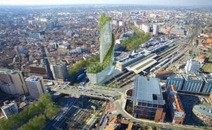 L'Occitanie Tower doit être livrée en 2021-2022.