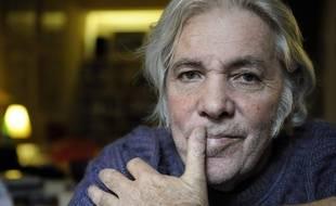 Le chanteur et parolier Pierre Barouh, le 14 octobre 2008, chez lui à Paris.