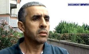 Nacir Ghedir, le père du petit Abdelrazak qui est décédé mercredi