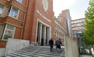 L'hôpital Huriez à Lille.