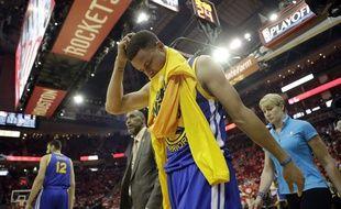 Le meneur de jeu des Golden State Warriors Stephen Curry, le 24 avril 2016.