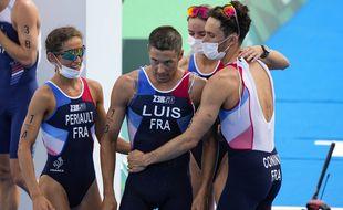 Le relais mixte de triathlon a remporté la médaille de bronze aux JO de Tokyo.