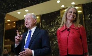Le sénateur républicain Jeff Sessions, candidat de Donald Trump pour le poste de ministre de la Justice.