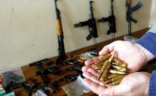 Lorraine: Par peur de la fin du monde, il stocke des dizaines d'armes et 38.000 munitions chez lui (Illustration)