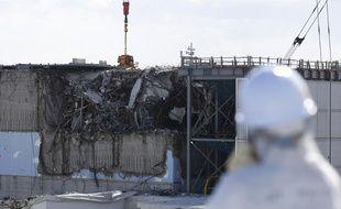 En 2018, Tepco organise une visite des journalistes de la centrale nucléaire détruite sept ans plus tôt.