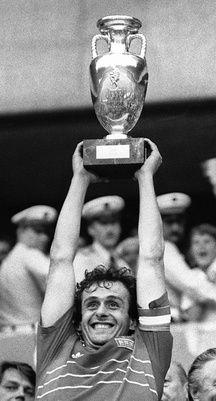 Michel Platini le 27 juin 1984