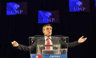 Cannes, le 10 juillet 2014. François Fillon a défendu sa vision de l'UMP lors d'un meeting alors que le parti est en proie à de vives soubresauts.