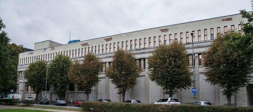 Le bâtiment à Talinn du Centre d'excellence de cyberdéfense coopérative de l'OTAN.