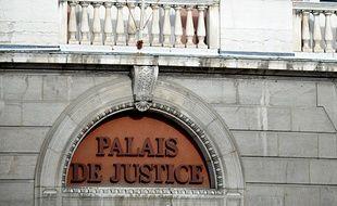 Palais de justice de Chambéry (Savoie).
