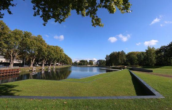 strasbourg un nouveau parc au bord de l 39 eau. Black Bedroom Furniture Sets. Home Design Ideas