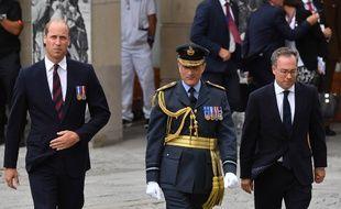 Le Prince William le 8 août à Amiens pour commémorer le centenaire de la bataille du même nom.