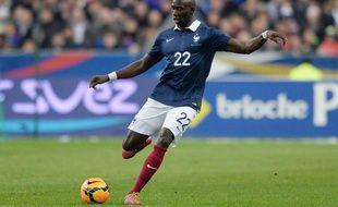 Eliaquim Mangala lors du match amical entre la France et les Pays-Bas, le 5 mars 2014, au Stade de France, à Saint-Denis.