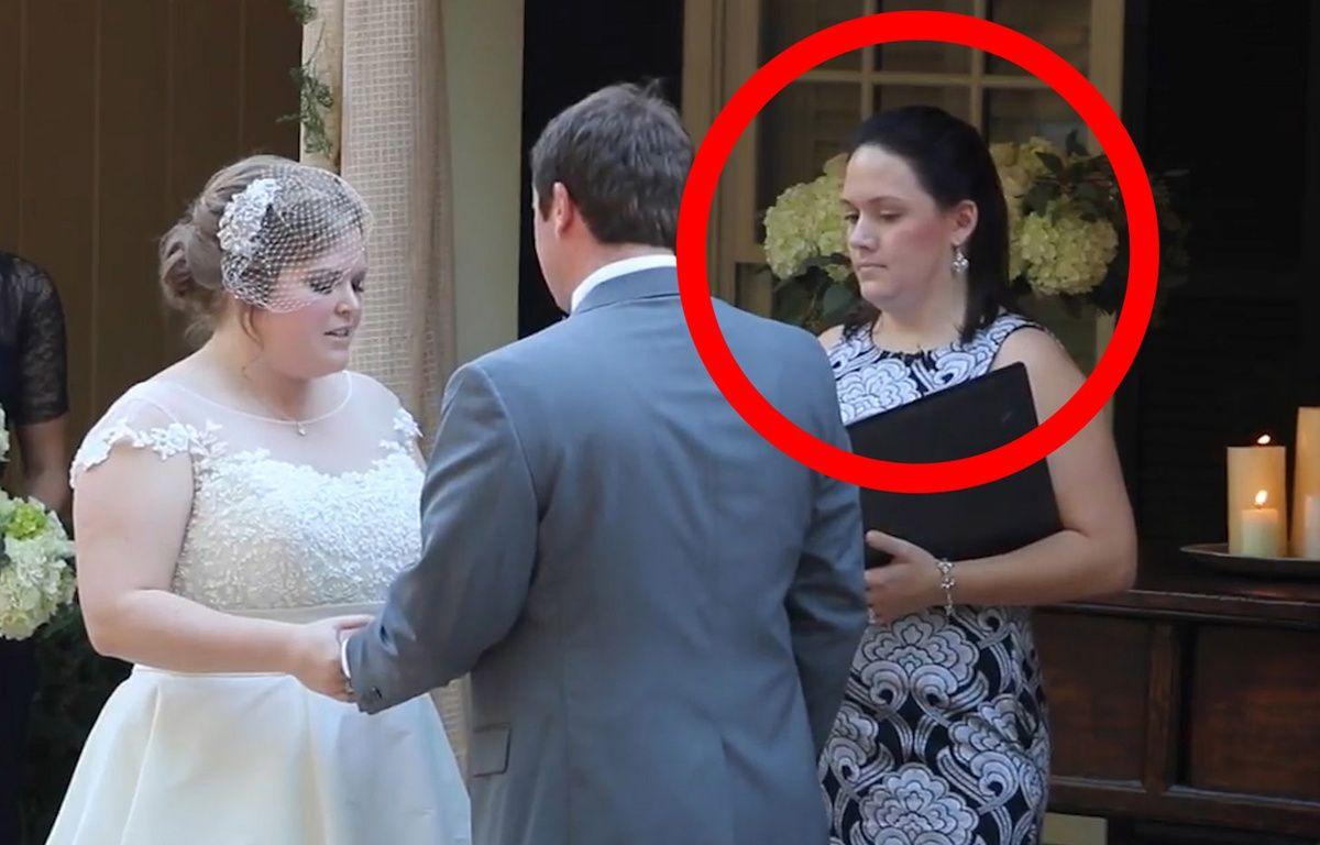 Elle vomit en plein mariage - Le Rewind (video) – Capture d'écran