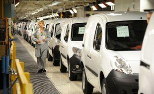 L'usine Renault de Maubeuge où sont produits le Renault Kangoo et le Citan de Daimler.