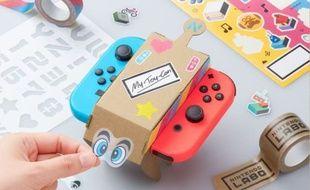 Nintendo Labo permet d'inventer et créer ses propres Toy-Con et manières de jouer