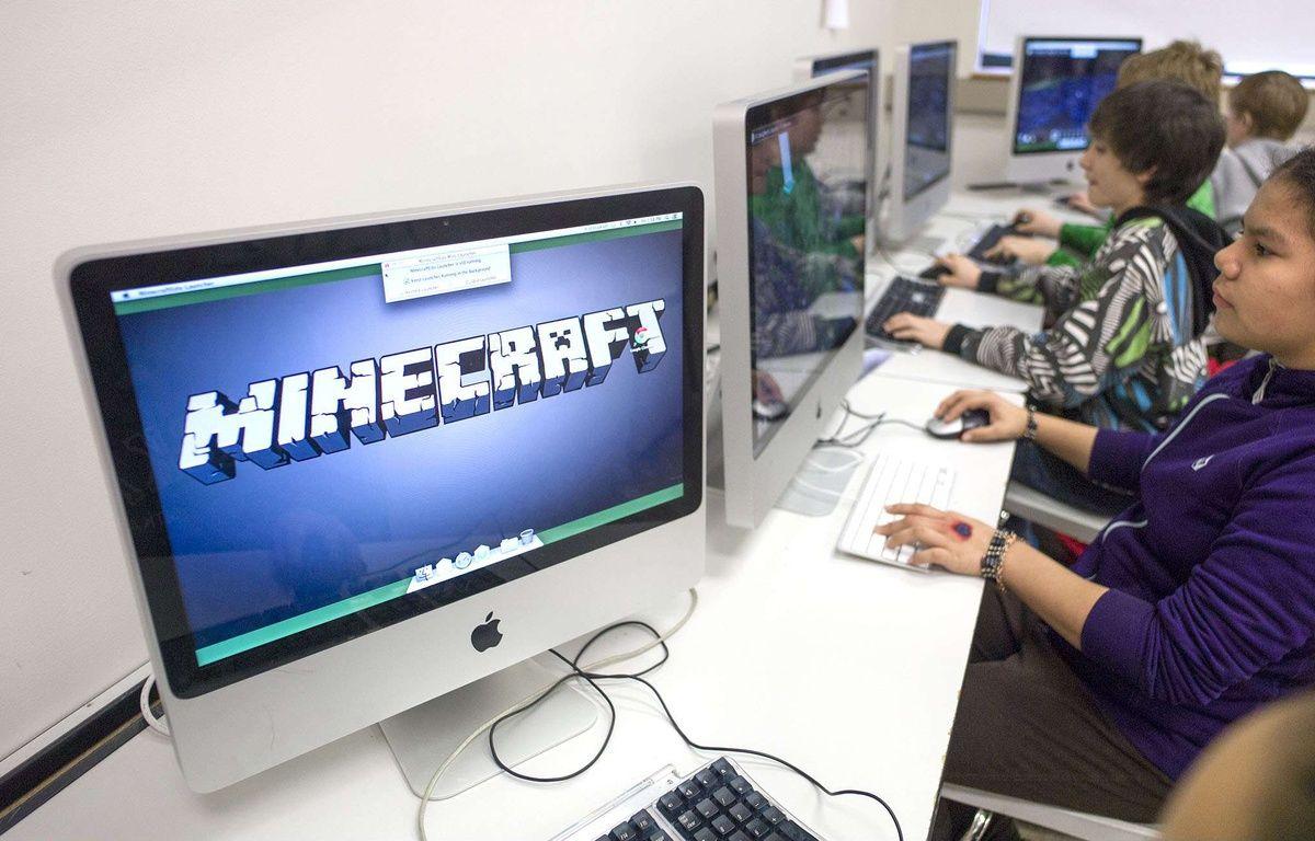 """Le """"serious gaming"""" permet de détourner un jeu vidéo tous publics pour l'utiliser dans l'enseignement. – Michael Penn/AP/SIPA"""