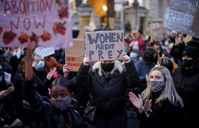 648x415 manifestation contre violences faites femmes londres 15 mars 2021 apres mort sarah everard