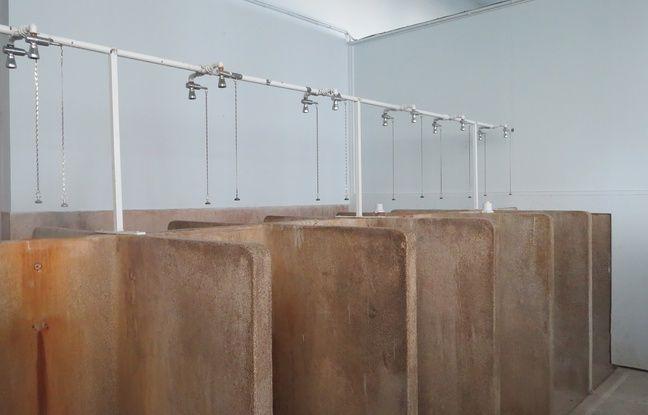 Les douches ont été construites dans les années 1920