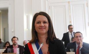 NANTES, 03/04/2014 Johanna ROLLAND, maire de Nantes