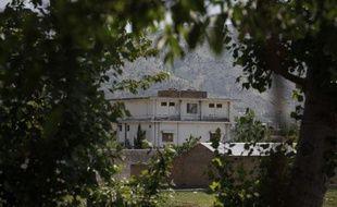La résidence occupée par Oussama ben Laden avant sa mort, le 3 mai 2011, à Abbottabad (Pakistan).