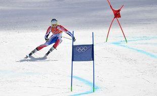 Le skieur français Alexis Pinturault, lors du géant des Jeux olympiques de Sotchi, le 19 février 2014