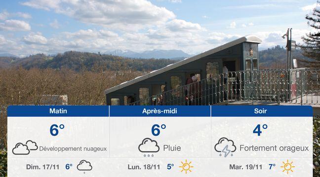 Météo Pau: Prévisions du samedi 16 novembre 2019 - 20minutes.fr