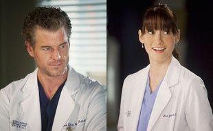 Mark Sloan (Eric Dane) et Lexie Grey (Chyler Leigh) dans la saison 8 de «Grey's Anatomy».