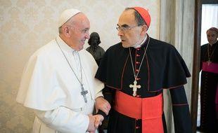 Le Pape François a refusé mardi 19 mars la démission du cardinal Barbarin.