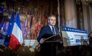 Xavier Bertrand a été élu, dimanche, président de la région Nord-Pas-de-Calais Picardie.