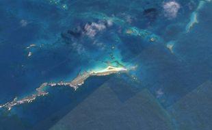 East Island avant que l'île ne soit engloutie sous les eaux.