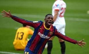 Ousmane Dembélé et le Barça sont intraitables en Liga depuis plusieurs semaines.