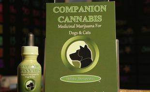 Une teinture à base de marijuana pour chats et chiens, commercialisée à Los Angeles.