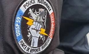 Illustration de la Force de réponse immédiate (FRI), un des services d'investigation de la police lilloise dédié aux stupéfiants.