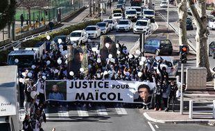 Une mobilisation pour Maïcol en janvier à Nice (Illustration