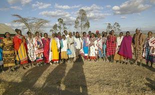 Des villageoises kenyanes