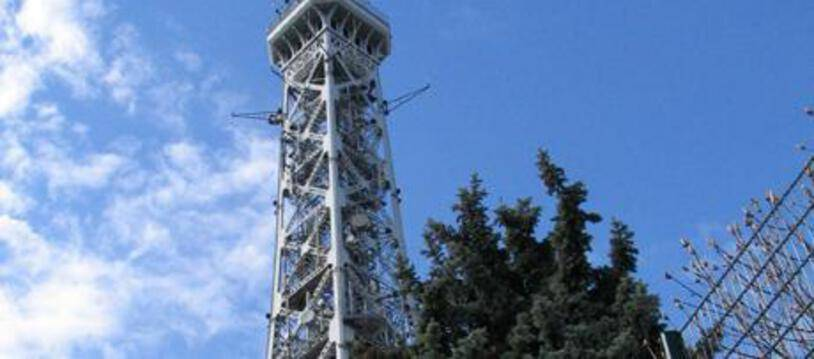 L'émetteur TDF de Lyon.