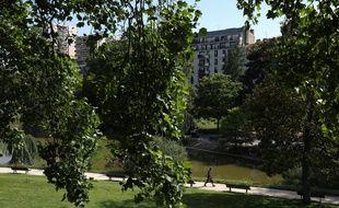 Le Parc Montsouris à Paris, ici le 27 mai, rouvrir dès ce samedi matin.