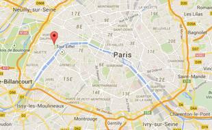 Villes Autour De Paris Carte