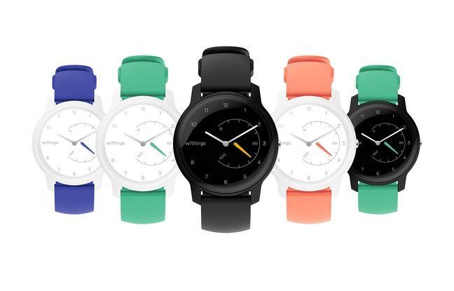 Les montres Move, dévoilées au CES 2019 de Las Vegas.