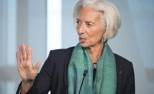 La directrice générale du Fonds monétaire international Christine Lagarde, le 6 juin 2014 à Washington