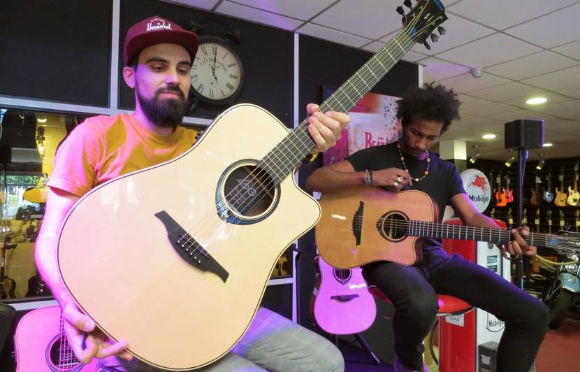 VIDEO. La « guitare intelligente », l'invention française qui veut faire la « révolution »