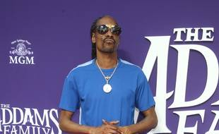 Le rappeur Snoop Dogg