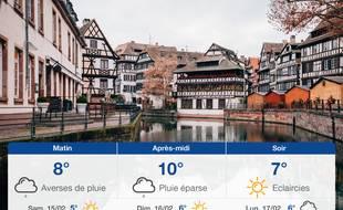 Météo Strasbourg: Prévisions du vendredi 14 février 2020