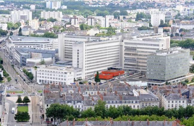 Le CHU de Nantes.